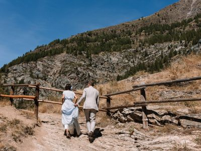 Mountain Wedding in the Italian Alps