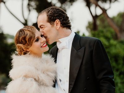 Great Gatsby Wedding in Rome