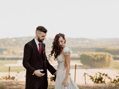 Vintage Circus Wedding in Monferrato