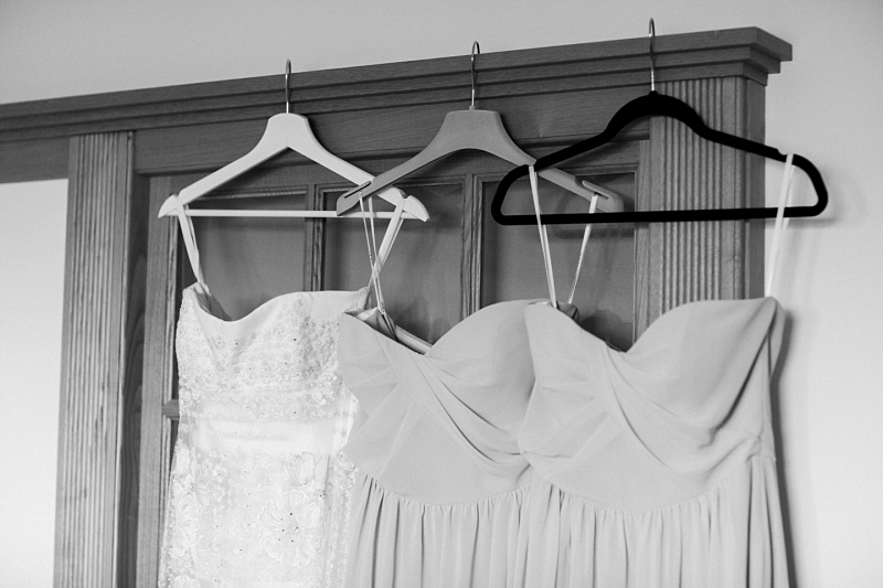 bride and bridesmaids dresses in borgo sant'ambrogio