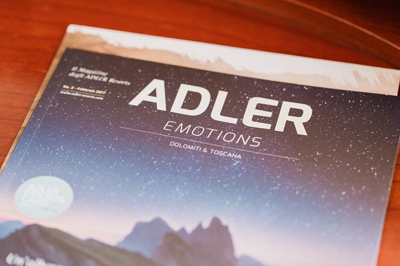 adler emotions magazine in dolomites and tuscany