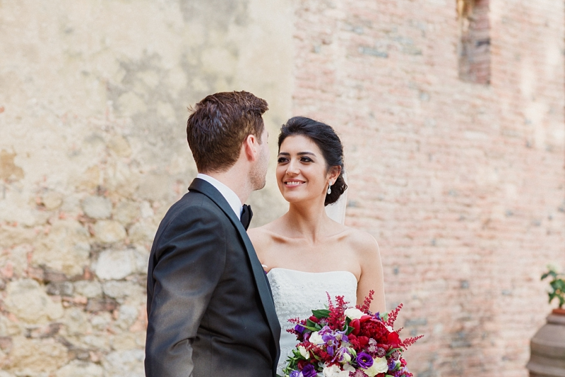 summer dream wedding in tuscany
