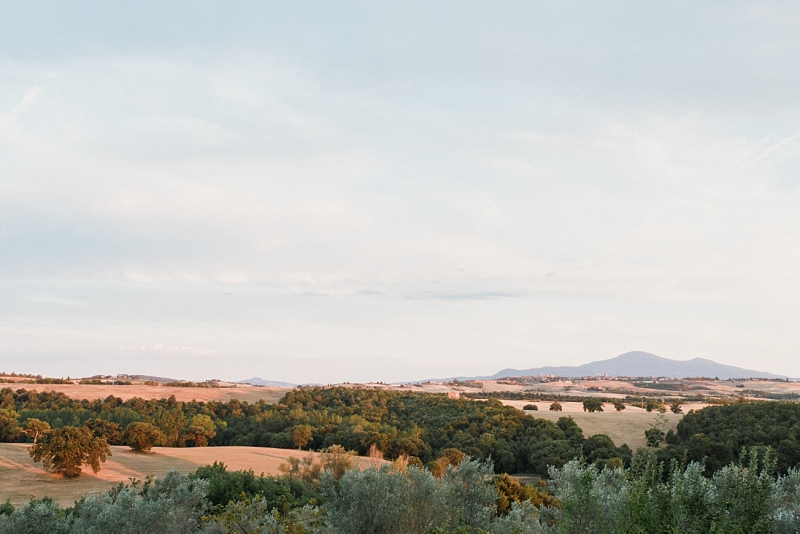 view from borgo sant'ambrogio wedding in tuscany