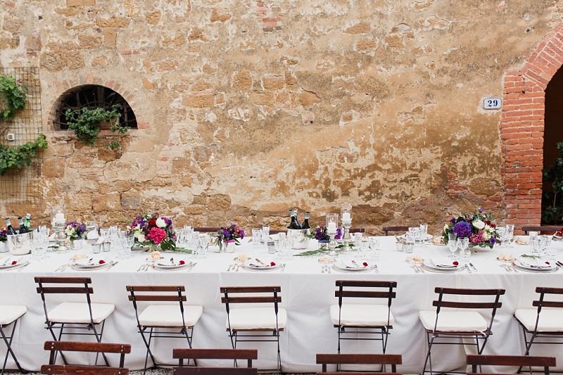 matrimonio estivo in borgo toscano