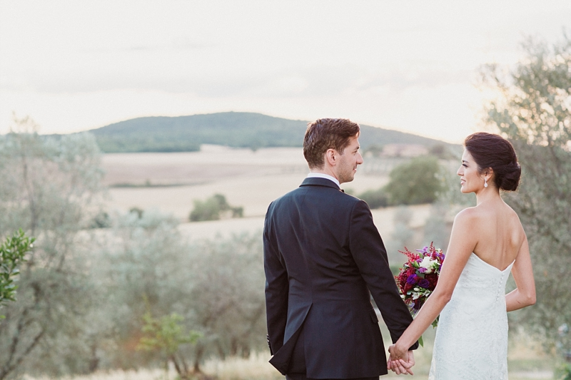 tuscan fine art wedding portrait photography