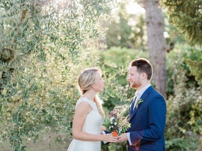 Relaxed Wedding in San Gimignano
