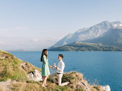 Lakeside Surprise Proposal